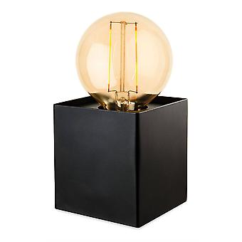 Firstlight Richmond - 1 Light Table Lamp Black, E27