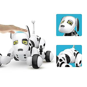 Led Electronic-pet-toy Wireless Rc-robot Dog Interactive Talking Smart Intelligent-educational Remote Control Robot