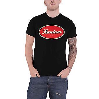 Samiam T Shirt Oval Logo new Official Mens Black