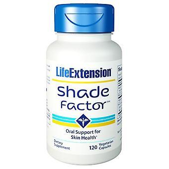 Life Extension Shade Factor, 120 Veg Caps