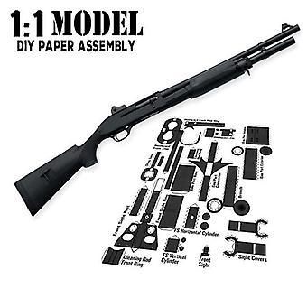 בניית מודל נייר אקדח