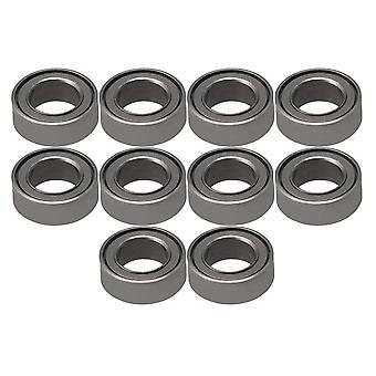 10pcs Lager Stahl Mini Kugel Lager Miniatur MR74ZZ 4mmx7mmx2.5mm
