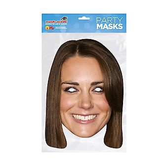 Mask-arade Kate Middleton Celebrities Party Face Mask
