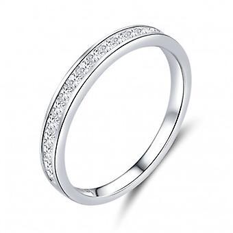 Sterling Silber Ring Glänzend - 6861