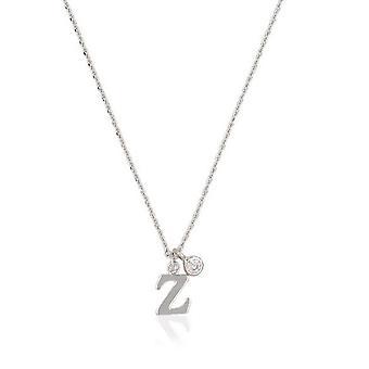Zirconium Buchstaben Halskette