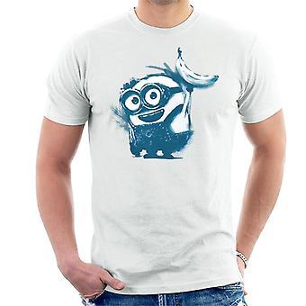Halveksittava Minä Bob The Minion Banana Art Men's T-paita