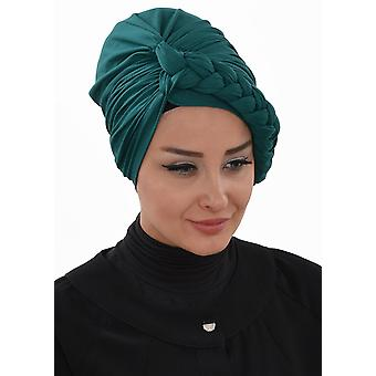 Cotton Turban With Bride Details - Theresa