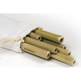 Biodegradable Bamboo Drinking Straws