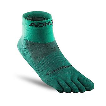 Athletic Socks, Quarter For Five Toed Barefoot Running Shoes Marathon Race