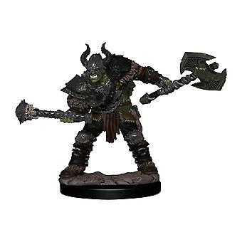 Pathfinder Half-Orc Barbarian MalePremium Figure