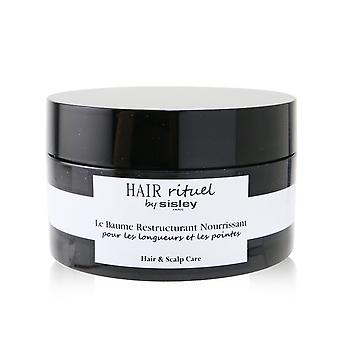 Hair rituel by sisley restructuring nourishing balm (for hair lengths and ends) 256394 125g/4.4oz