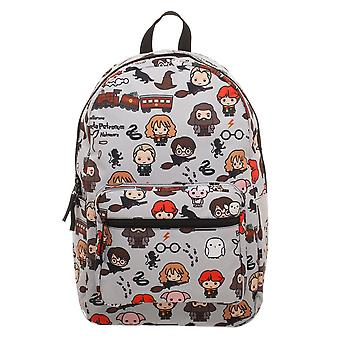 Harry Potter Chibi All Over Print Backpack