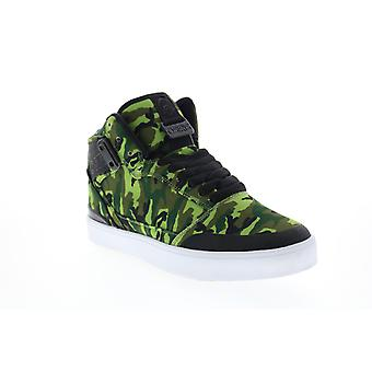 Osiris Cultur  Mens Green Canvas Skate Inspired Sneakers Shoes