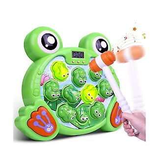 Whack A Frog Game, Interactive Pounding Toy For Early Developmental Learning