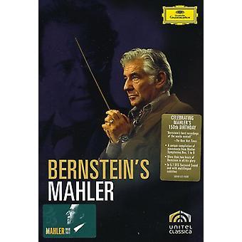 Leonard Bernstein - Mahler/Bernstein [DVD] USA import