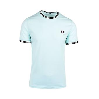 Fred Perry Twin Tipped T-shirt Brighton Blue