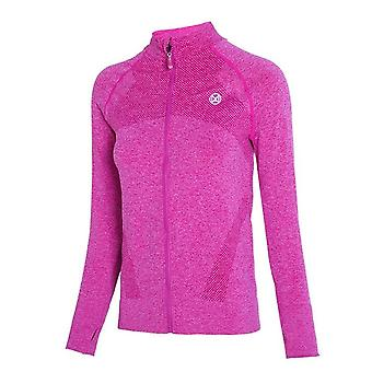 Dry Quick Gym Sport Jackets, Elastic Tights Femme & s Manches longues Zipper Fitness