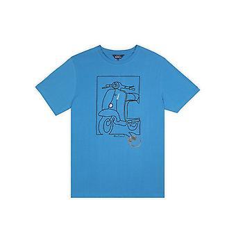 Ben Sherman Moped Print T-Shirt