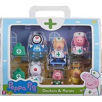Peppa Pig Artsen & Verpleegkundigen Playset
