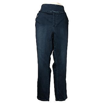 Belle By Kim Gravel Women's Jeans Plus TripleLuxe Denim Blue A381621