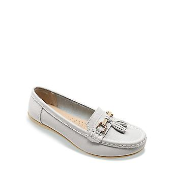 Chums Ladies Leather Loafer Shoe