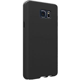 Verizon Samsung Galaxy Huomaa 5 - matta musta Silikonisuoja