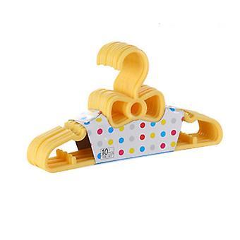 10 Pcs Kids Bowknot Plastic Hangers