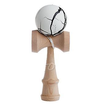 سلامة الكراك نمط لعبة، الخيزران Kendama خشبية التعليمية