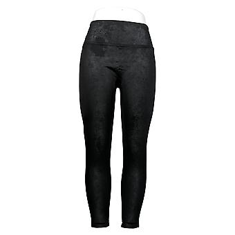 All Worthy Hunter McGrady The Ultimate Faux Leather Legging Black A387465
