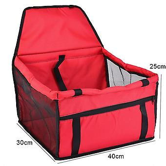 Waterproof Pet Dog Car Seat Cover Travel Carrier Outdoor Safe Basket Puppy Mesh