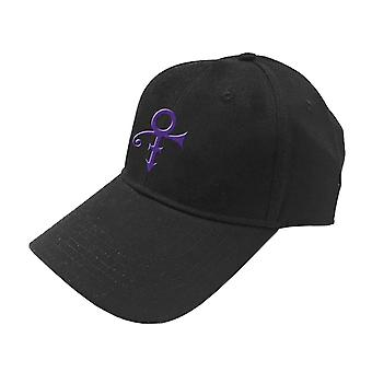 Prince Baseball Cap Purple Symbol new Official Black Unisex