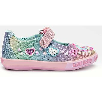 Lelli Kelly LK7072 Gem Unicorn Rainbow glitter shoes