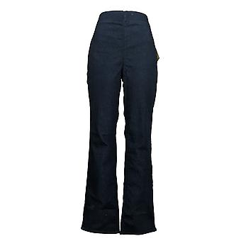 NYDJ Women's Jeans Pull-On Straight-Leg With Side Slits Blue A374973