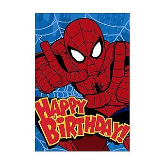 Hallmark Itty Bittys Marvel Spiderman Birthday Card 25470186