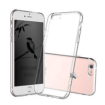 Coque Pour Iphone 6s Iphone 6, Housse De Protection En Silicone De Haute Qualité, Transparent