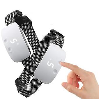 Rechargeable Anti Barking Training Collar With  Adjustable Sensitivity And Intensity Beep Vibration