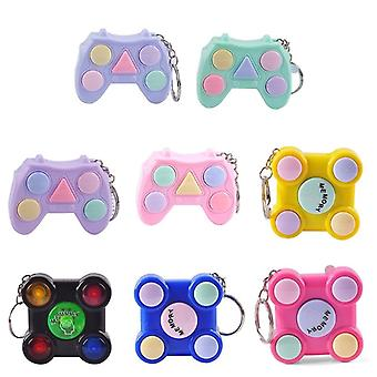 Gamepad Shape Memory Maze Cube Gadget Keychain Educational Breakthrough Game