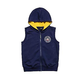 Alouette Boys' Sweatshirt Vest With Embroidery