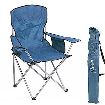 Summit Quebec Folding Chair Indigo Blue
