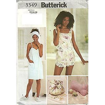 Butterick نمط الخياطة 3349 يخطئ منشفة التفاف النعال Camisole حجم 12-16