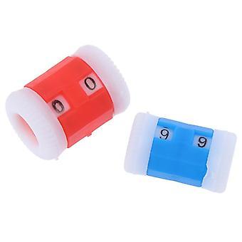 Kleine blaue Kunststoff stricken Stricknadeln Row Counter