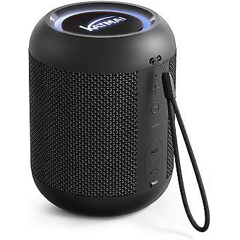 Kabelloser Bluetooth Lautsprecher, KATMAI E7-L Bluetooth-Mini-Lautsprecher, Bass-up, Verlaufslicht,