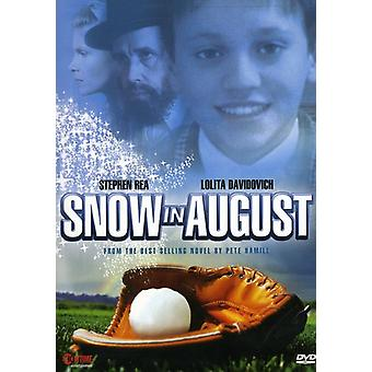 Snow in August [DVD] USA import