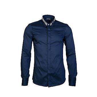 Emporio Armani Shirt Slim Fit 6z1cp2 1nfuz