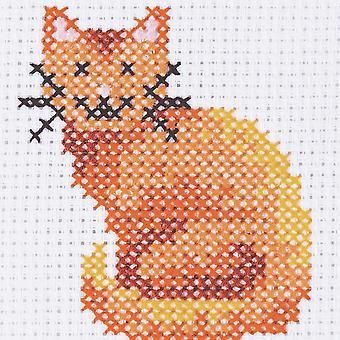 Anchor Cross Stitch Kit: 1. sarja: Cat