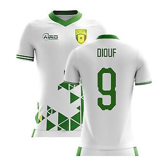 2020-2021 السنغال مفهوم الوطن لكرة القدم قميص (ضيوف 9)