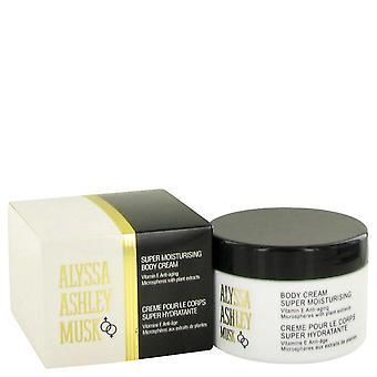 Alyssa Ashley Musk by Houbigant Body Cream 8.5 oz