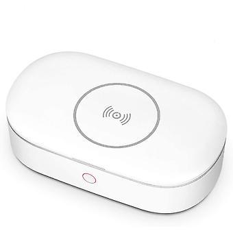 FengChun kabelloses Ladegerät schnurlos für Handy QZ mit UV-Licht Ozon Desinfektionsbox