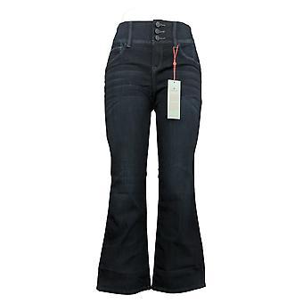 Laurie felt mujeres's Petite Jeans Curve Sedoso Denim Boot-Cut Azul A347860