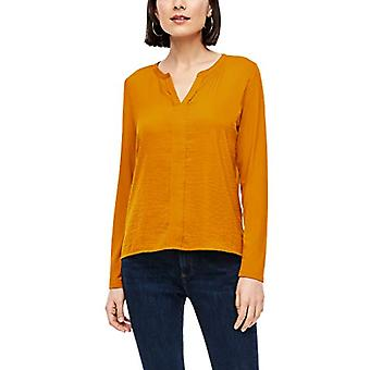 s.Oliver 120.10.009.12.130.2042441 T-Shirt, Yellow, 44 Woman